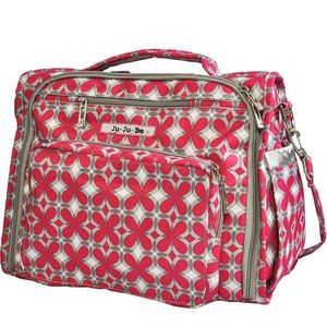 NWT Jujube Be Prepared diaper bag weekender pink